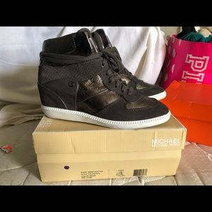 Micheal Kors wedge shoes
